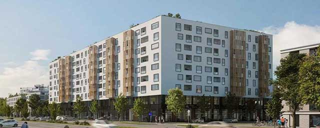Diagonala Blok D, Novi Sad - hidroizolacija podzemnih etaža i platoa