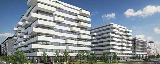 Blok 32, Beograd - hidroizolacija ravnih krovova i platoa