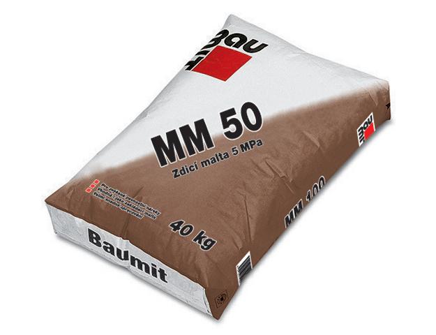 Baumit MM 50 – Gotovo zamešani malter za zidanje
