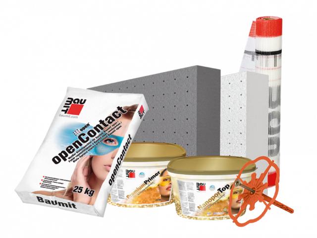 Baumit Open fasadni sistem – Premium fasadni sistem koji diše