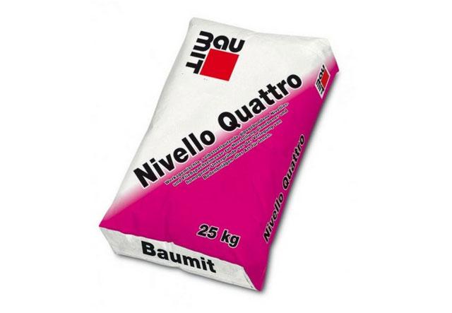 Baumit Nivello Quattro – Samoizravnavajuća masa za nivelisanje za unutrašnje površine