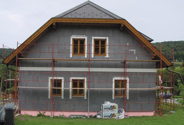 Austrotherm EPS AF PLUS na fasadi