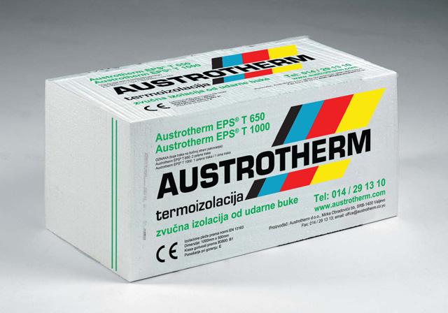 Austrotherm EPS T650 - podna zvučna izolacija