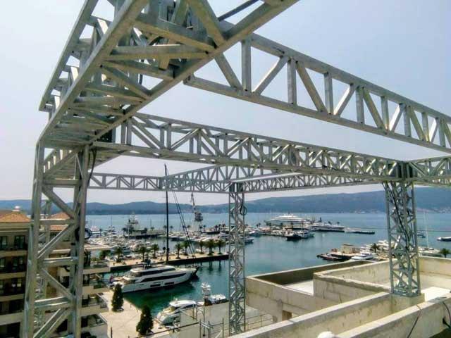 Poslovni objekat- Porto Montenegro - Čelična konstrukcija - Tivat, 2018.
