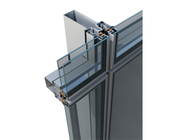M3 SOLAR SEMISTRUCTURAL - polustrukturalna fasada