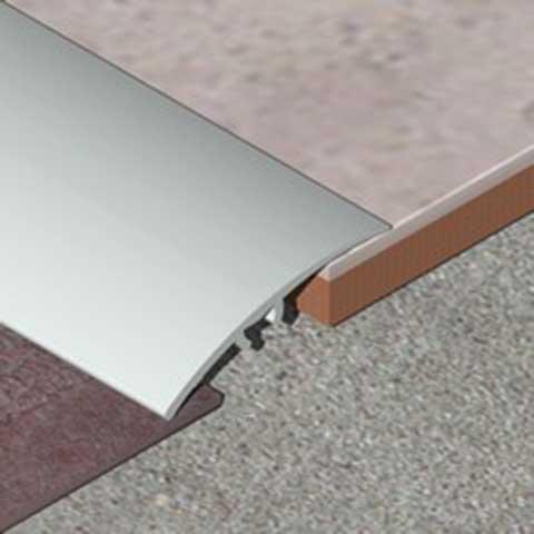 Prelaz od aluminijuma - prekriva razliku u nivou do 15mm