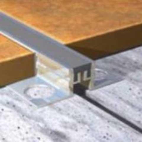 Aluminijumski dilatacioni profil - proizvođač Genesis, u ponudi su dubine od 10mm, 12,5mm i 15mm