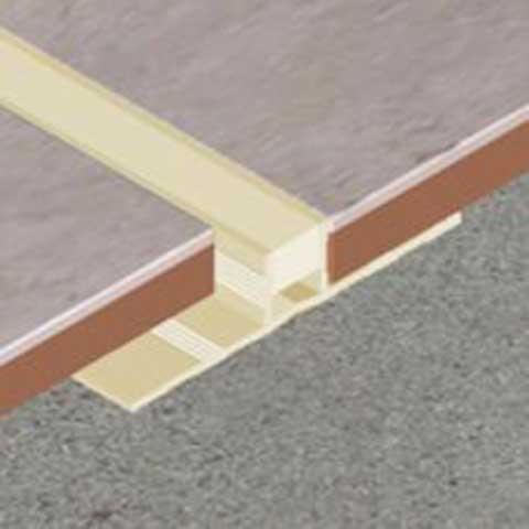 PVC dilatacioni profil -  u ponudi više dubina – 10 i 12,5mm