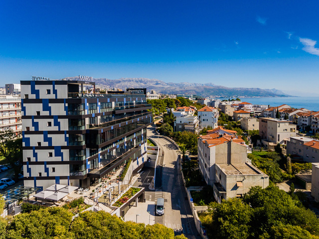 Hotel Marvie - Split, 2017; Arhitekte: Atelier Šverko; Klijent: Vetma d.o.o. Split; Sistemi: Termo 85 SK, Fasada 50 FK  i 50 FS, Termo 85 VS