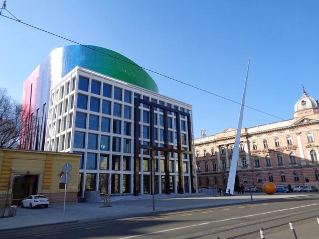 Muzička akademija Zagreb - 2014; Arhitekta: Milan Šošteri; Klijent: Aluferit d.o.o; Sistemi: Fasada 60 K, Termo 85 H