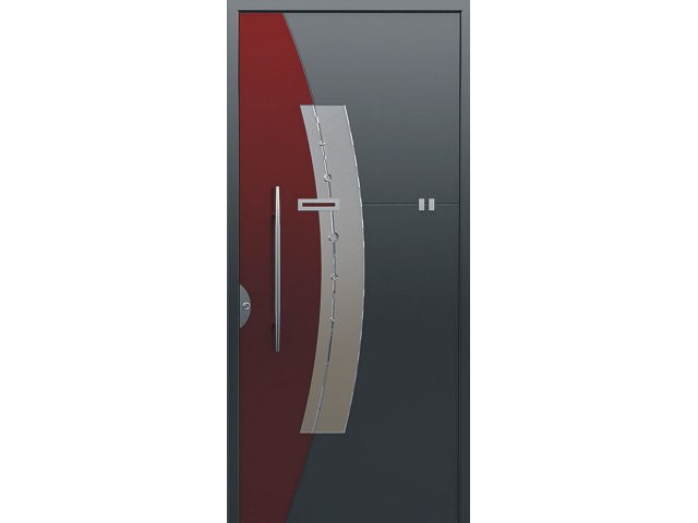Vrata 1651 siva