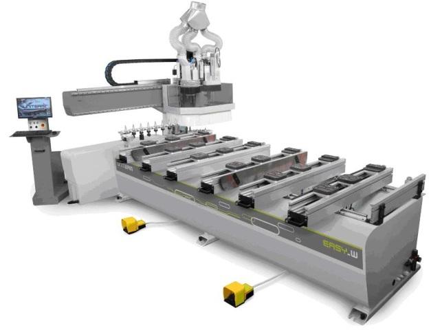 Uniteam easy W – CNC mašina za drvo