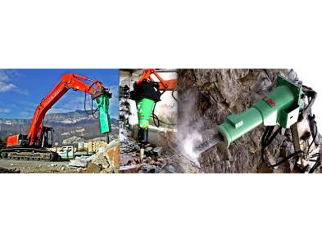 Hidraulični čekići i rezervni delovi