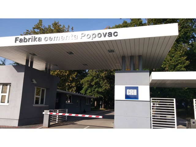 CRH Fabrika cementa Popovac