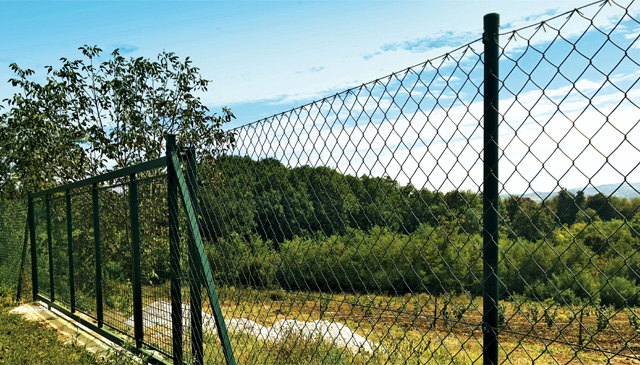 Ograda - pletena žica