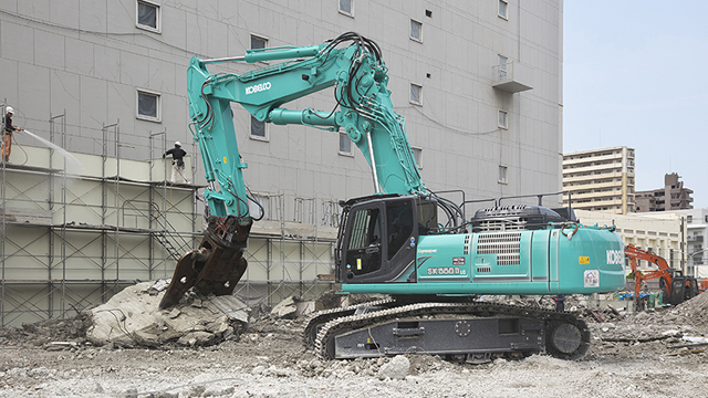 Bager za demolaciju i reciklažu-SK550DLC-10