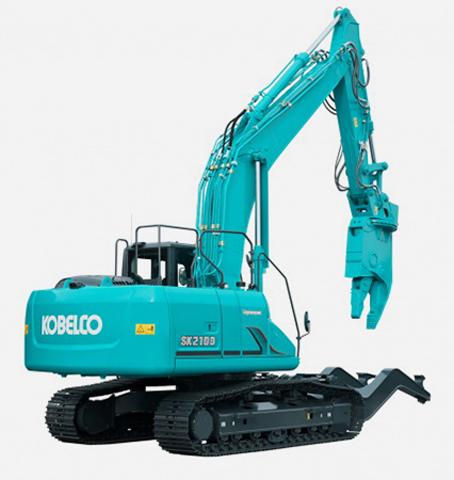 Bager za demolaciju i reciklažu-SK210D-10