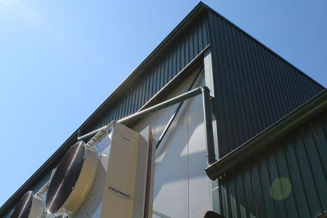 Prijepolje, hladnjača - Trimoterm fasadni paneli