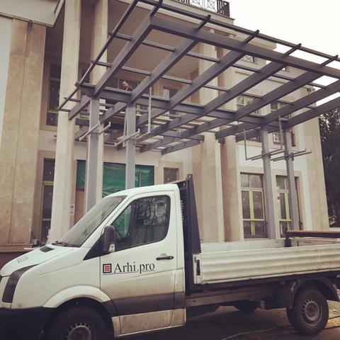 Design&Build objekat rezidencije ambasadora Ujedinjenih Arapskih Emirata u Srbiji