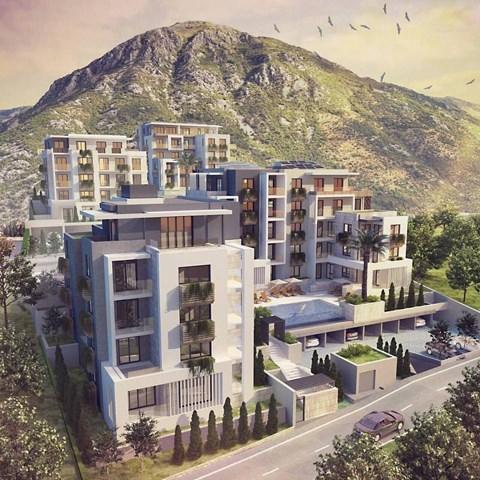 Stambeni kompleks Four Hills, Tivat