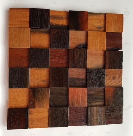 Drveni mozaik 300x300