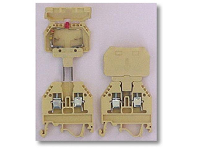 Redne stezaljke sa nosačem osigurača i plug-in nastavkom