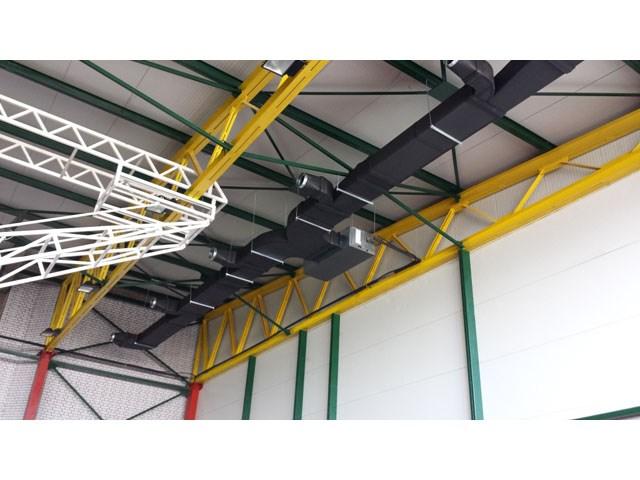Sportska hala, Paraćin - klimatizacija