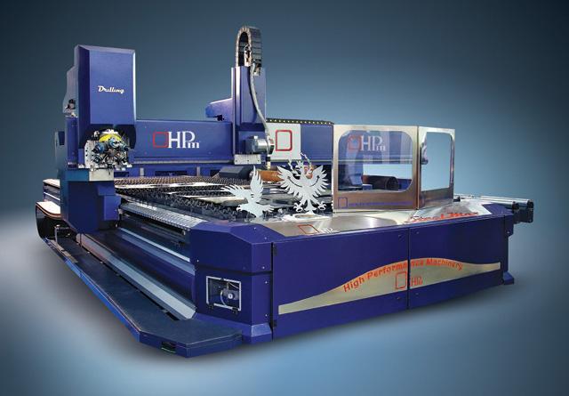 CNC rezanje/Plazma (mašina Steel Max, proizvođač: HPm srl, Italija)