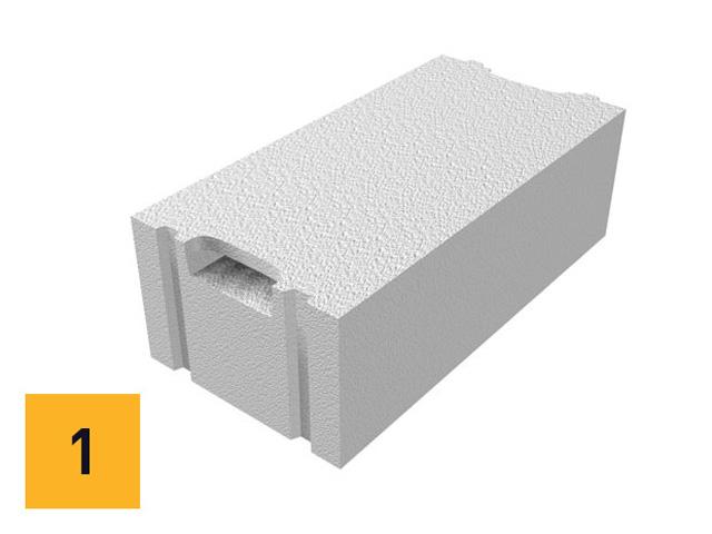 Ytong termoblok Plus - upotrebljava se za gradnju spoljnih nosećih ili ispunskih zidova, bez dodatne termoizolacije.