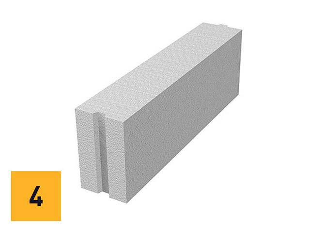 Ytong pregradni blok - upotrebljava se za zidanje unutrašnjih pregradnih zidova.