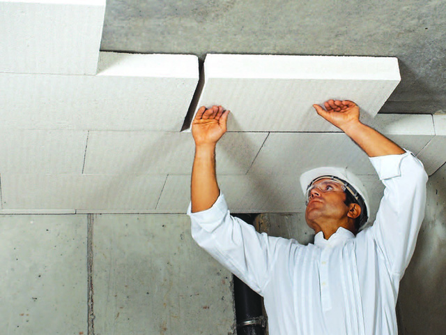 Multipor izolacija plafona