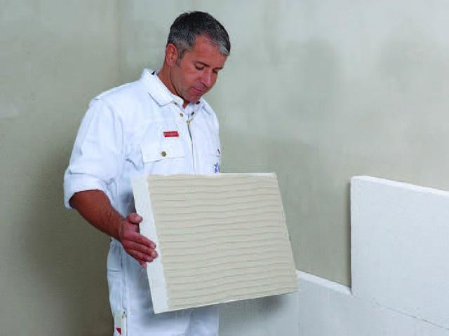 Postavljanje Multipor termoizolacionih ploča sa unutrašnje strane