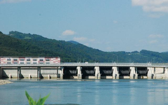Hidroelektrana Blanca - Donji tok reke Save, Slovenija