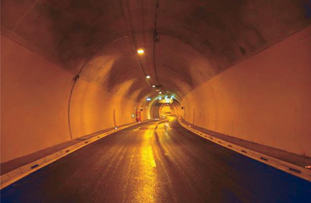 Izvedeni radovi u tunelu