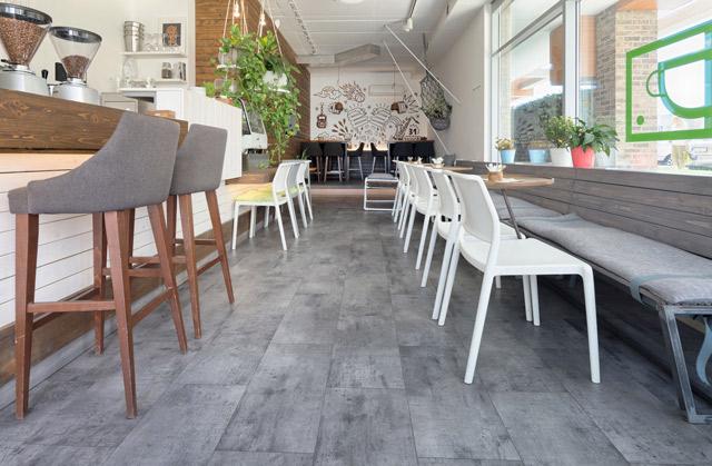 Tarkett-LVT-Drop caffe, Beograd