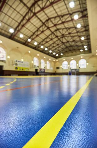 Tarkett-sportski-podovi-Sport hall Anefs, Bukurešt