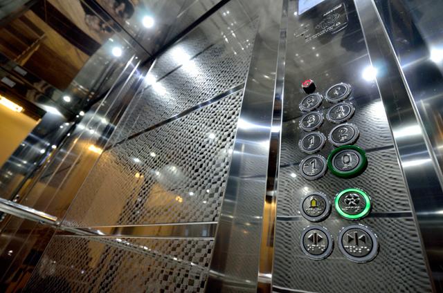 Liftovi u stambenim zgradama - Kabina, detalj