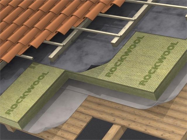 Kosi krov - izolacija iznad greda (Hardrock Energy, Durock Energy, Hardrock II, Monrock Energy)