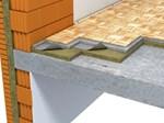 Plivajući pod - cementni estrih (Floorrock, Steprock)