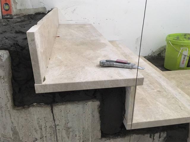 Stepenište - Kamenit malter