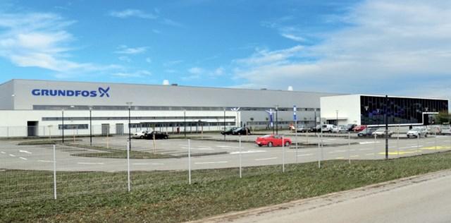 Grundfos -  proizvodno-upravni kompleks, Inđija, površina: 27280m²