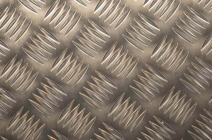 Rebrasta aluminijumska pločevina