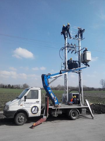 Elektrodistribucija Subotica-Izgradnja STS20-04kV 664 i 20kV kablovskog voda