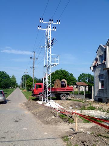 Izvedeni radovi - Elektodistribucija-Savino-selo