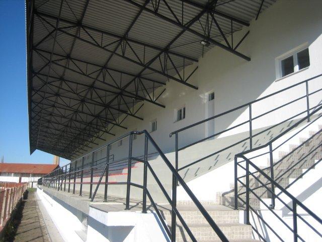Izgradnja istočnih tribina na gradskom stadionu Sombor