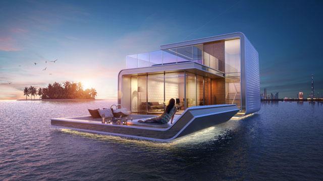 Marine villa city