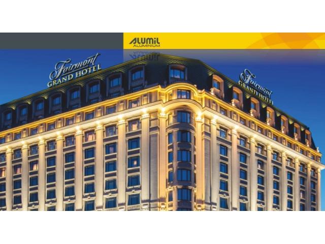 Fairmont Grand hotel, Kijev, Ukrajina