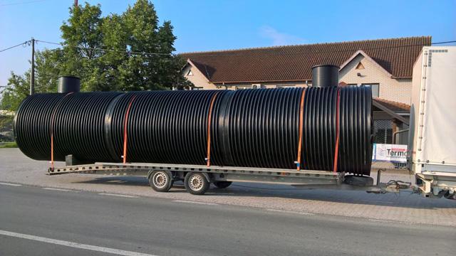 Podzemni horizontalni rezervoar