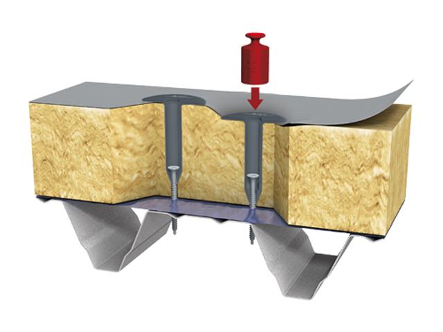EJOT tipl i vijak za krovnu membranu