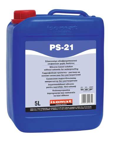 PS-21 - Vodoodbojna impregnacija bez rastvarača na bazi siloksana